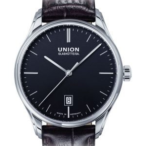 Union Glashütte Viro Datum 41mm D011.407.16.051.00 Herrenuhr