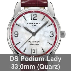 DS Podium Lady 33.0mm (Quarz)
