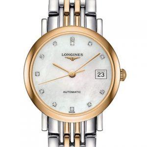 The Longines Elegant Collection L4.309.5.87.7 Automatic Damenuhr