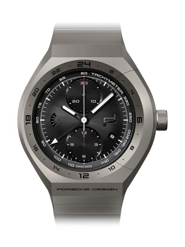 PORSCHE DESIGN Monobloc Actuator GMT-Chronotimer All Titanium 4046901564124 / 6030.6.02.001.02.5