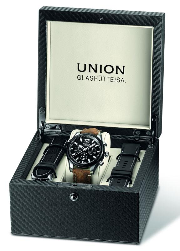 Union Glashütte Belisar Chronograph Sport D009.927.26.207.00 Uhrenbox