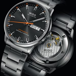 Mido Commander II Chronometer M021.431.11.061.01 Herrenuhr
