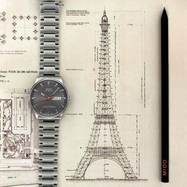 Mido Commander II Chronometer M021.431.11.061.01 Herrenuhr