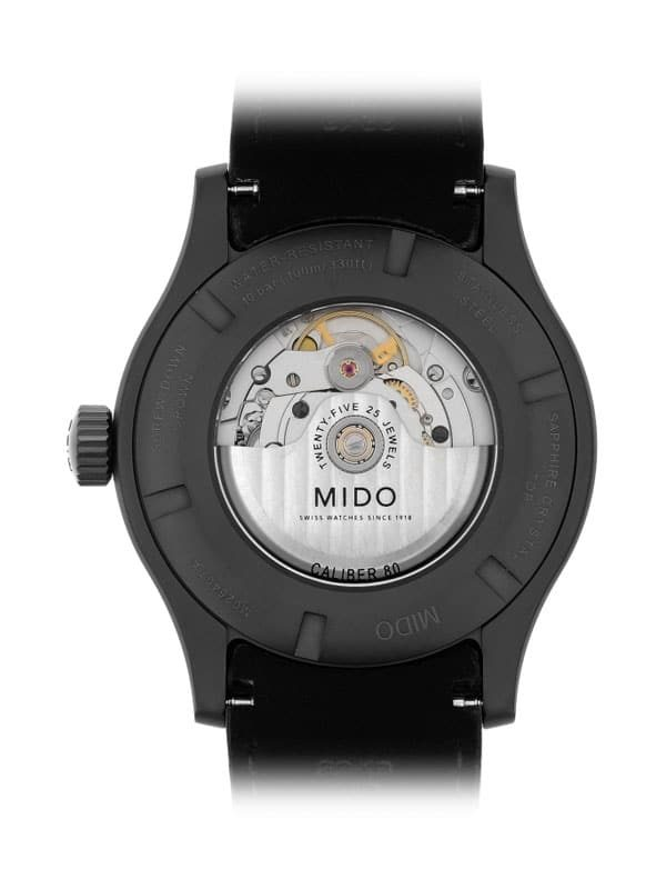 Mido Multifort Adventure M025.407.36.061.10 Rückseite