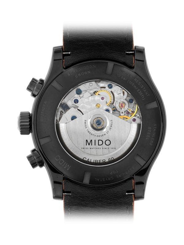 Mido Multifort Adventure Chronograph M025.627.36.061.10 Rückseite
