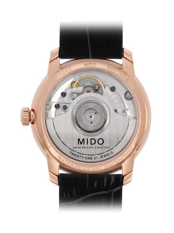 Mido Baroncelli Lady III Heritage M027.207.36.260.00 Rückseite