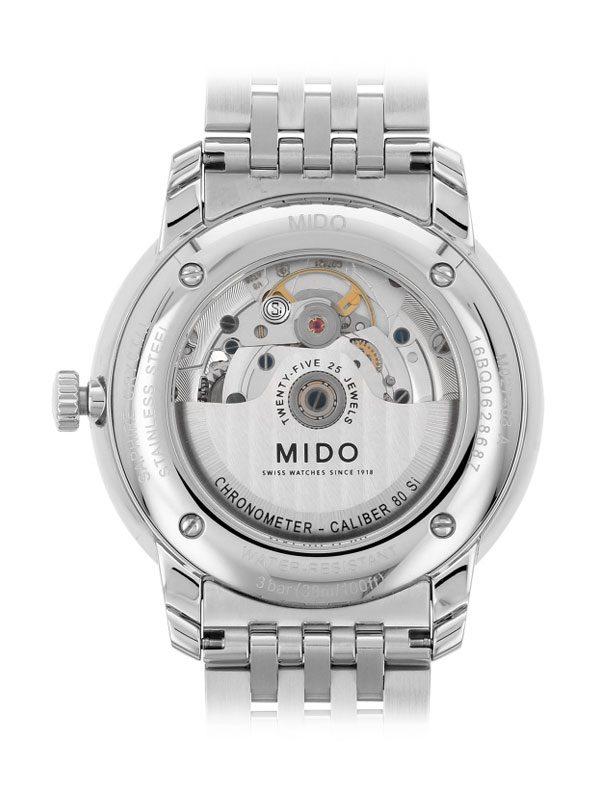 Mido Baroncelli III Gent Caliber 80 M027.408 Chronometer Rückseite