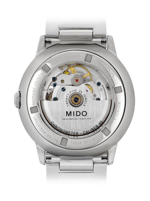 Mido Commander II Chronometer M021.431 Rückseite