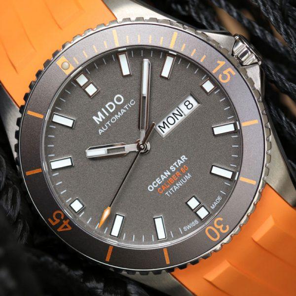 Mido Ocean Star M026.430.47.061.00 Automatik Titanium
