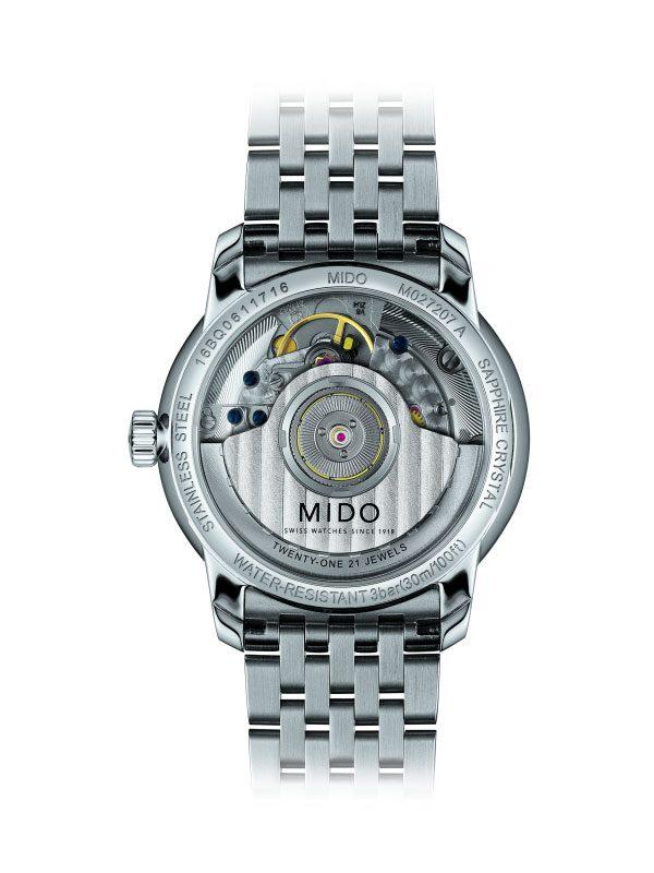 Mido Baroncelli Heritage M027.207.11.010.00 Rückseite