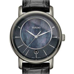 Rado Diamaster Quartz Damenuhr M R14064915 / 01.218.0064.3.491