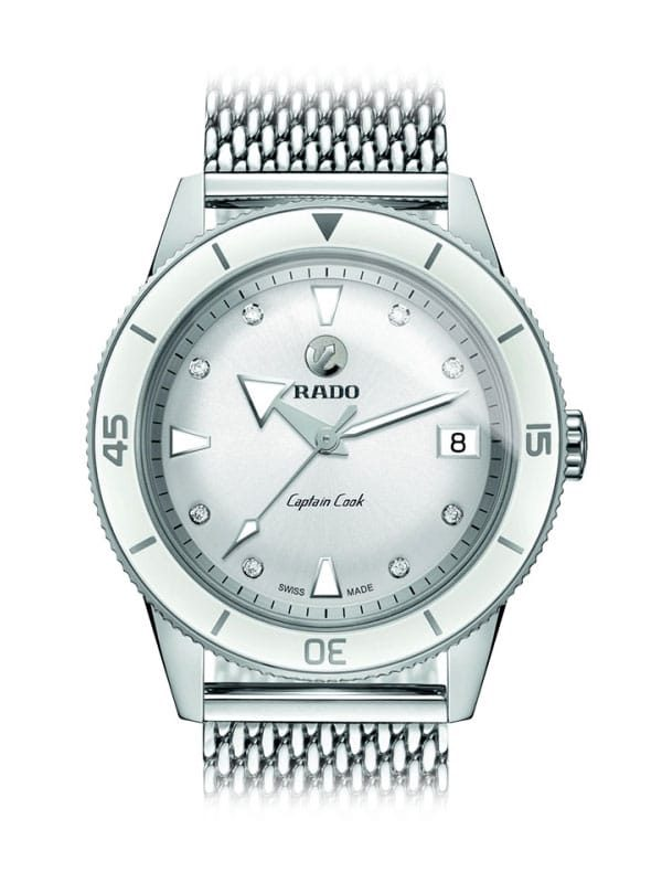 Rado HyperChrome Captain Cook Diamonds M R32500703 / 01.763.0500.3.070