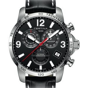 Certina DS Podium Chronograph GMT C034.654.16.057.00 COSC