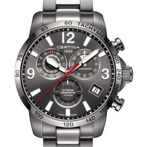 Certina DS Podium Chronograph GMT C034.654.44.087.00 COSC Titanium