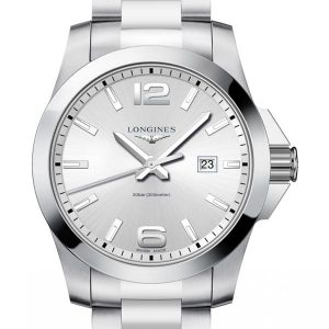 Longines Conquest Quarz L3.760.4.76.6 Herrenuhr