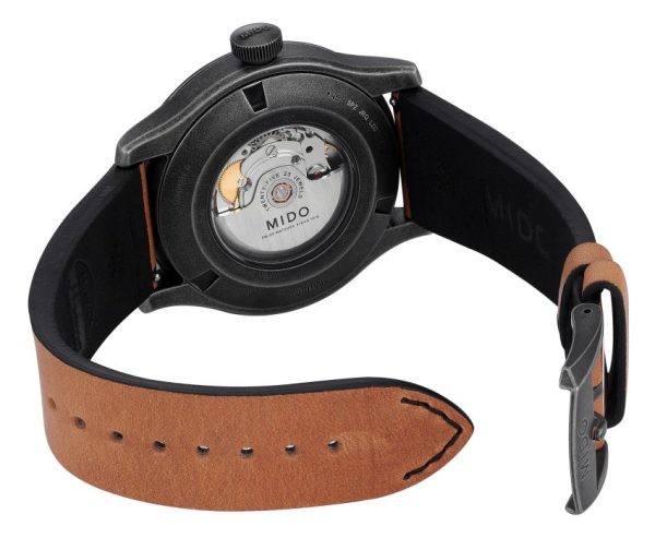 Mido Multifort Escape Horween M032.607.36.050.99 Special Edition Rückseite