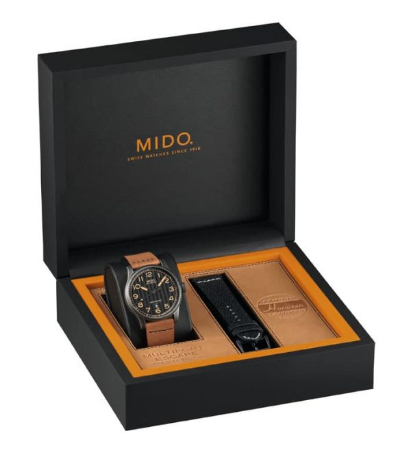 Mido Multifort Escape Horween Special Edition M032.607.36.050.99 Uhrenbox