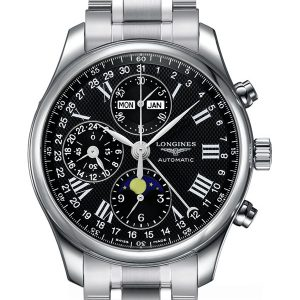 The Longines Master Collection L2.773.4.51.6 Chronograph Mondphase