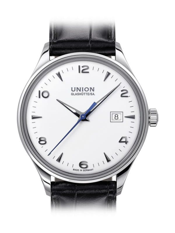 UNION Glashütte Noramis Datum 40mm D012.407.16.017.00 Herrenuhr