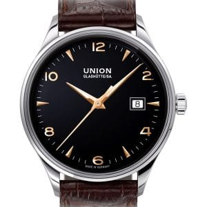 UNION Glashütte Noramis Datum 40mm D012.407.16.057.01 Herrenuhr