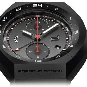 PORSCHE DESIGN Monobloc Actuator 24h-Chronotimer All Black 4046901818685 / 6030.6.01.007.01.5