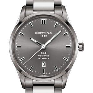 CERTINA DS-2 C024.410.44.081.20 Precidrive Titanium
