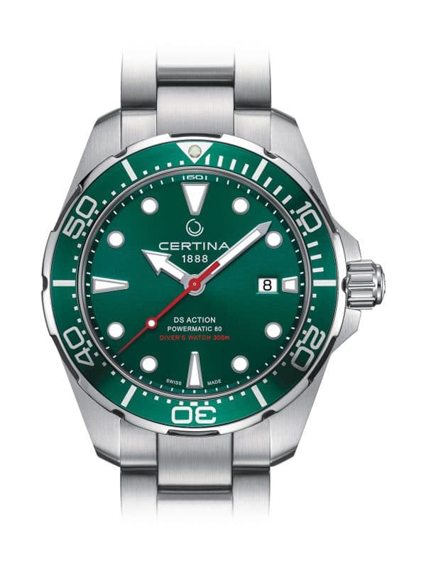 CERTINA DS Action Diver Automatic C032.407.11.091.00 Herrenuhr Grün