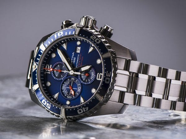 CERTINA DS Action Diver Chronograph Automatic C032.427.11.041.00 Blau
