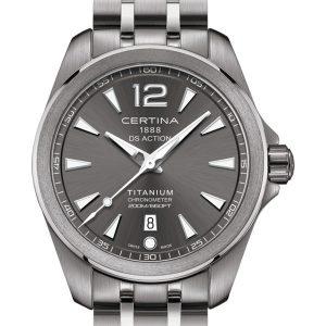 CERTINA DS Action Chronometer C032.851.44.087.00 Titanium COSC