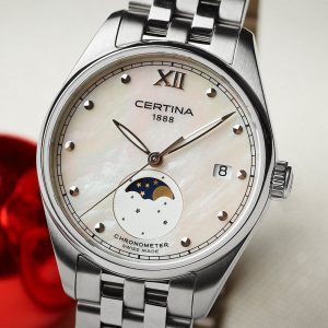 CERTINA DS-8 Lady Moon Phase C033.257.11.118.00 COSC