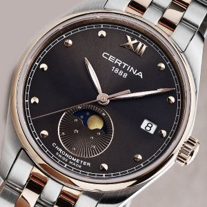 CERTINA DS-8 Lady Moon Phase C033.257.22.088.00 COSC