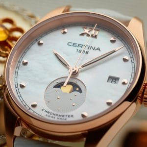 CERTINA DS-8 Lady Moon Phase C033.257.36.118.00 COSC