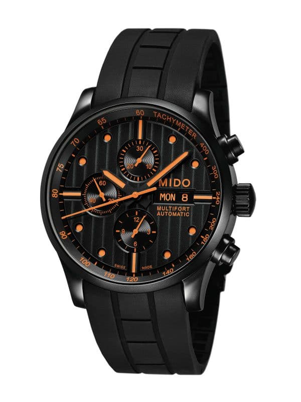 Mido Multifort Chronograph Black M005.614.37.051.01 Special Edition