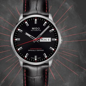 Mido Commander II Chronometer M021.431.16.051.00 Herrenuhr