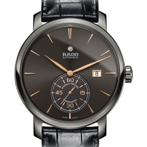 RADO Diamaster Petite Seconde XL R14053106 / 01.773.6053.3.410