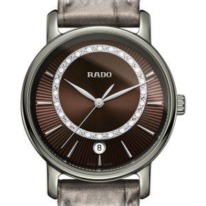 RADO Diamaster Quartz Diamonds M R14064735 / 01.218.0064.3.473