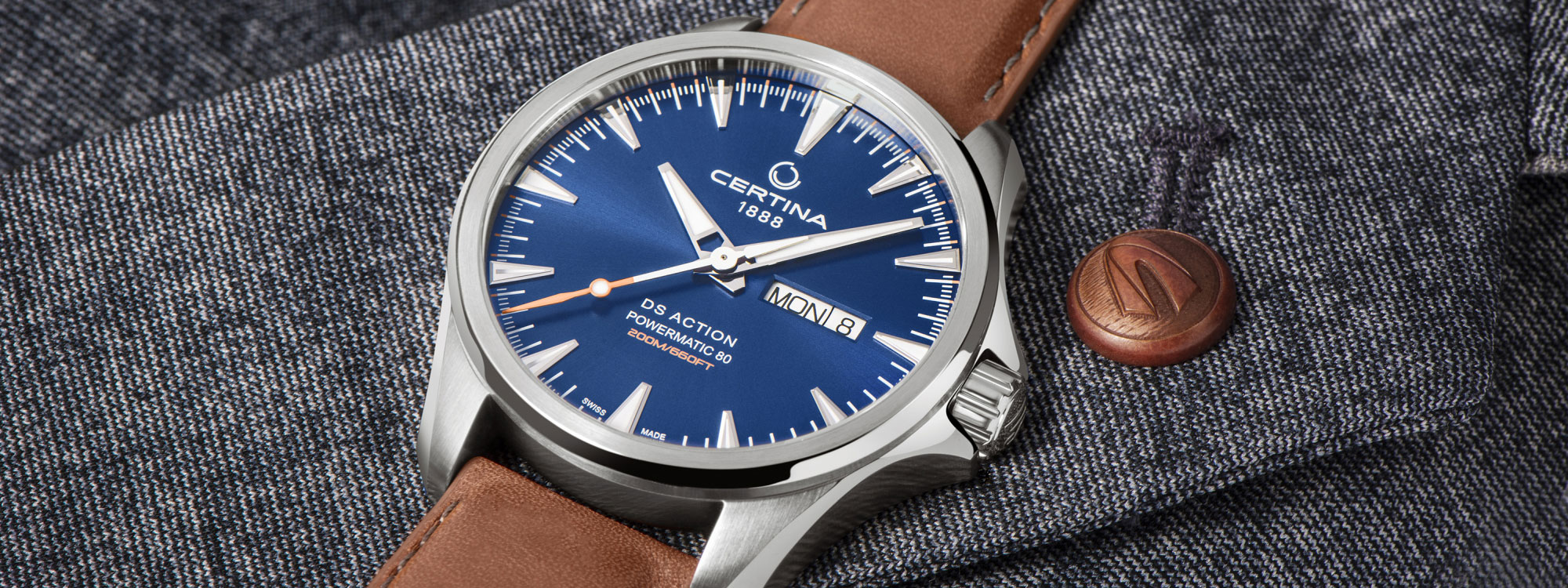 CERTINA DS Action Day-Date Powermatic 80