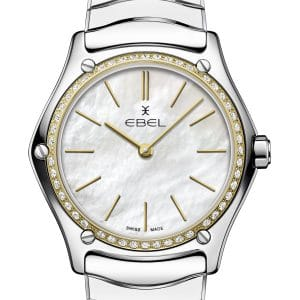 EBEL Sport Classic Lady 1216452A Polished