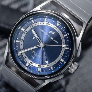 PORSCHE DESIGN 1919 Globetimer UTC All Titanium & Blue 4046901979287