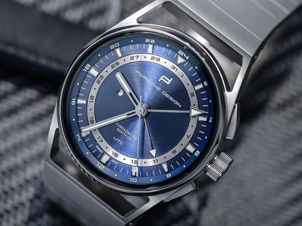 PORSCHE DESIGN 1919 Globetimer UTC All Titanium & Blue 4046901979287