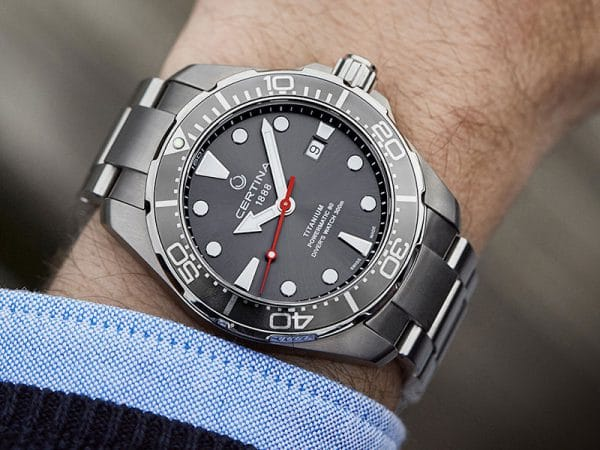 CERTINA DS Action Diver Powermatic 80 C032.407.44.081.00 Titanium
