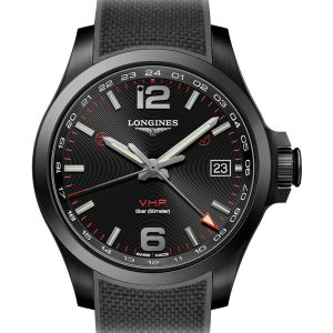 LONGINES Conquest V.H.P. GMT 41mm L3.718.2.56.9