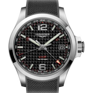 LONGINES Conquest V.H.P. GMT 41mm L3.718.4.66.9