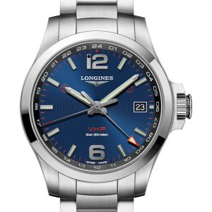 LONGINES Conquest V.H.P. GMT 41mm L3.718.4.96.6