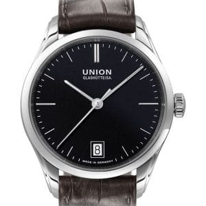 UNION Glashütte Viro Datum 34mm D011.207.16.051.00 Damenuhr