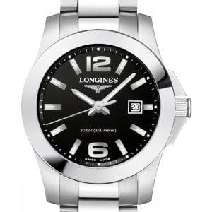 LONGINES Conquest Lady Quartz L3.376.4.58.6 Damenuhr