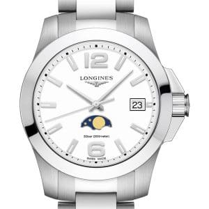 LONGINES Conquest Lady Quartz L3.381.4.16.6 Mondphase