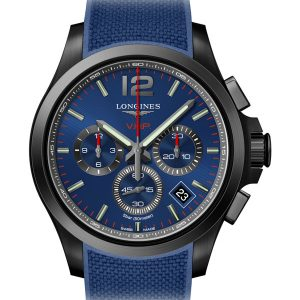 LONGINES Conquest V.H.P. Chronograph 42mm L3.717.2.96.9 Blau