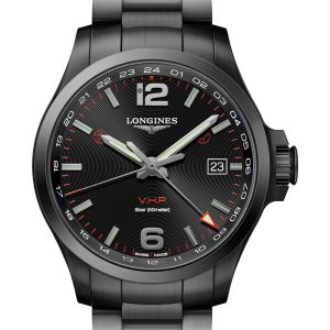 LONGINES Conquest V.H.P. GMT 43mm L3.728.2.56.6