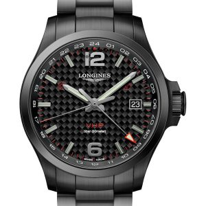 LONGINES Conquest V.H.P. GMT 43mm L3.728.2.66.6